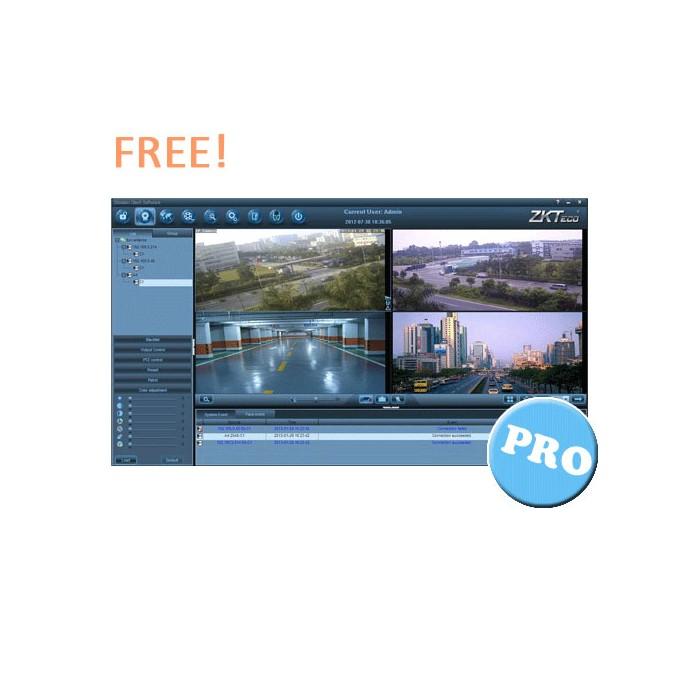 Software de Videovigilancia, Control de Accesos y Gestión de tiempos